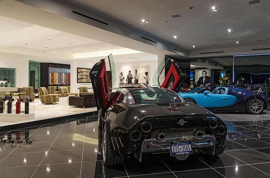 Home-bar-that-transcends-into-the-indoor-car-garage